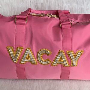 NEW Stoney Clover Lane Tropical Duffle 'VACAY' Bag